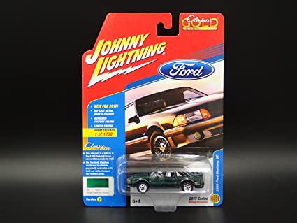 Amazon.com: 1990 Ford Mustang GT Fox Body 2017 Johnny ...