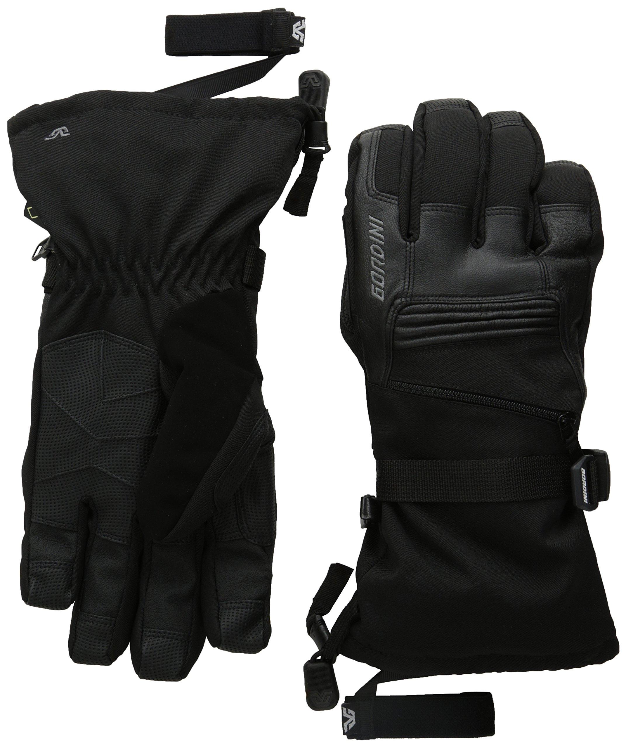 Gordini Men's Men's Gore-tex Storm Trooper Ii Waterproof Insulated Gloves, Black, Medium