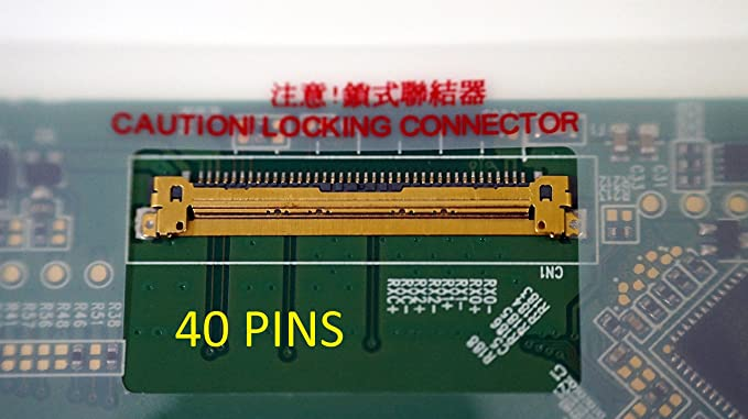 Generic New 14.0 WXGA 40 Pins LED LCD Screen WXGA Laptop Glossy Display Compatible with TOSHIBA Satellite M645-S4110 /& M645-S4070