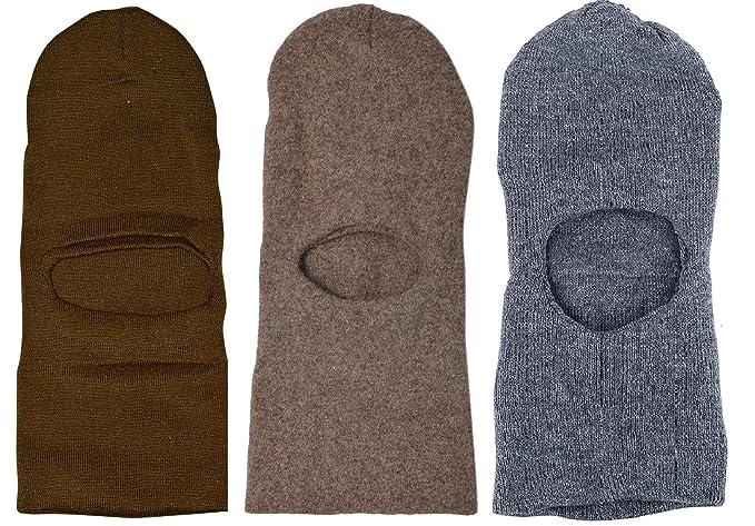 c937eac7de4 Image Unavailable. Image not available for. Colour  Zacharias Men s Woolen  Monkey Cap (Multicolour) -Pack of 3