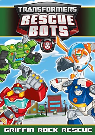 Transformers Rescue Bots: Griffin Rock Rumble DVD Region 1 ...