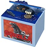 New Godzilla Movie Musical Monster Moving Electronic Coin Money Piggy Bank Box by TOMY