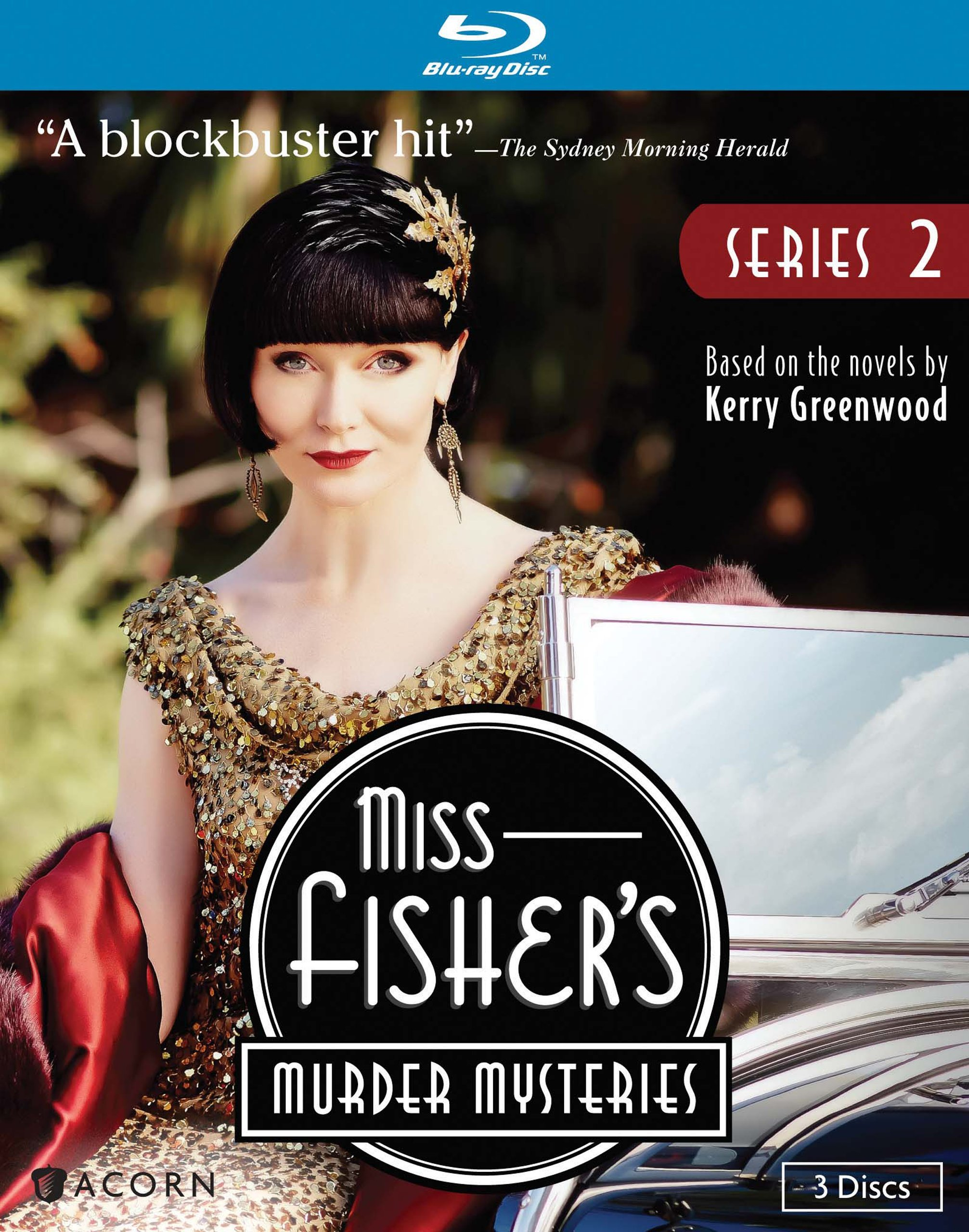 Blu-ray : Miss Fisher's Murder Mysteries: Series 2 (Widescreen, Digital Theater System, Digitally Mastered in HD, 3PC)