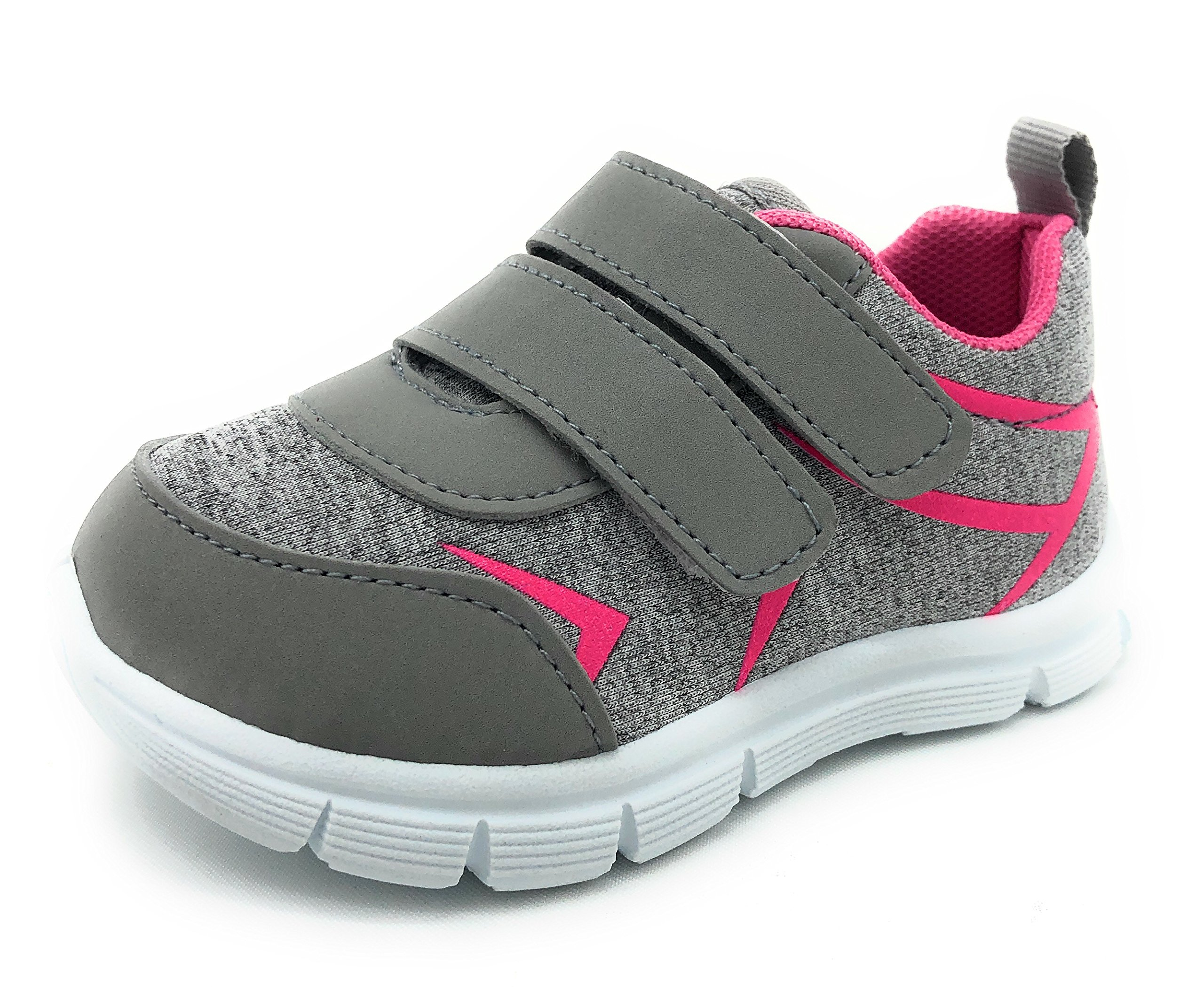 SOLE COLLECTION MYTH21 Kids Breathable Fashion Slip-On Athletic Sports Shoes,GREY1201,Size 4