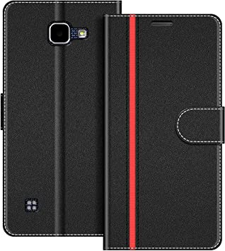 COODIO Funda LG K4 2016 con Tapa, Funda Movil LG K4 2016, Funda Libro LG K4 2016 Carcasa Magnético Funda para LG K4 2016, Negro/Rojo: Amazon.es: Electrónica