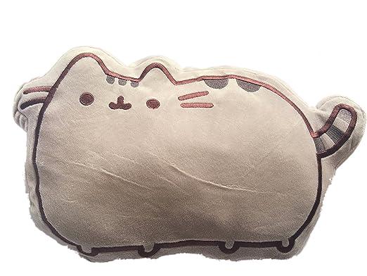 Cojín con forma del gato Pusheen de 33 cm x 25 cm: Amazon.es ...