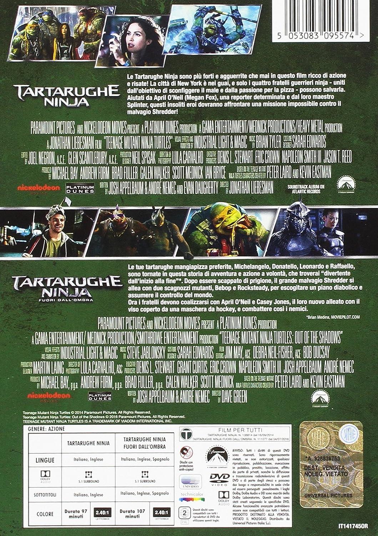 Tartarughe Ninja / Tartarughe Ninja 2 - Fuori DallOmbra 2 ...