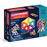 63074Magformers Creator Carnival Set (46-pieces) Deluxe Building Set. Magnetic Building Blocks, Educational Magnetic Tiles, Magnetic Building STEM Toy Set