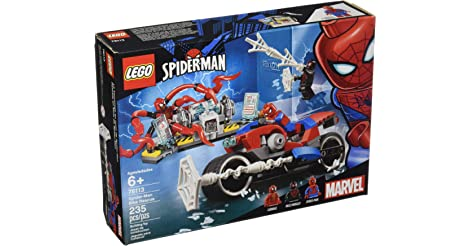 LEGO Marvel Spider-Man Bike Rescue 76113 Building Kit (235 Piece) only $15.99