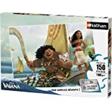 Nathan - 86816 - Puzzle Voyage Bout du Monde Vaiana 150 pièces