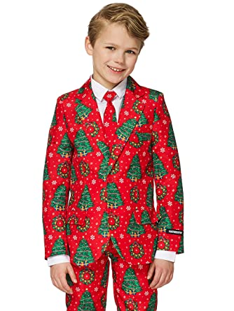 amazoncom suitmeister christmas suits for boys in different colors and styles includes jacket pants tie clothing
