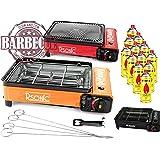 RSonic RS-4030 - Cucina da campeggio XXL, barbecue a gas, portatile