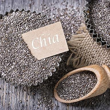 nu3 Semillas de Chía | 300g | Semillas de Chía concentradas en proteína natural, fibra alimentaria, ácidos grasos y Omega 3 y 6: Amazon.es: Alimentación y ...