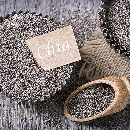 nu3 Semillas de Chía Premium | 800 g | Con ácidos grasos omega-3, fibra y proteína | SUPERFOOD para cada día | Para cocinar y hornear | Complemento perfecto ...