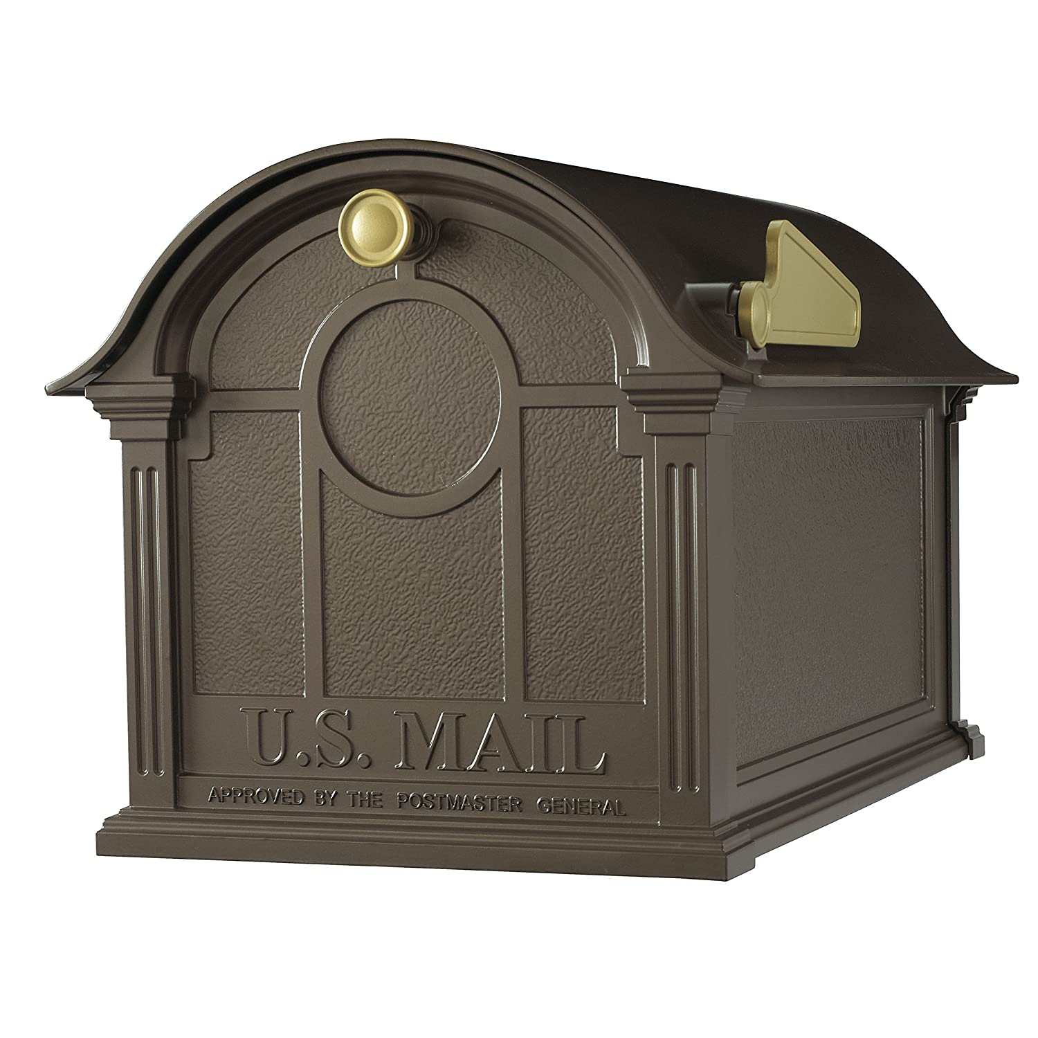 Whitehall Products Balmoral Mailbox, Black 16228