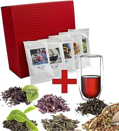 Kleines Tee Geschenk Set Probierpaket Im Weihnachtlichen