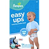 Pampers Easy Ups Training Pants Pull On Disposable Diapers for Boys Size 5 (3T-4T), 104 Count, GIANT