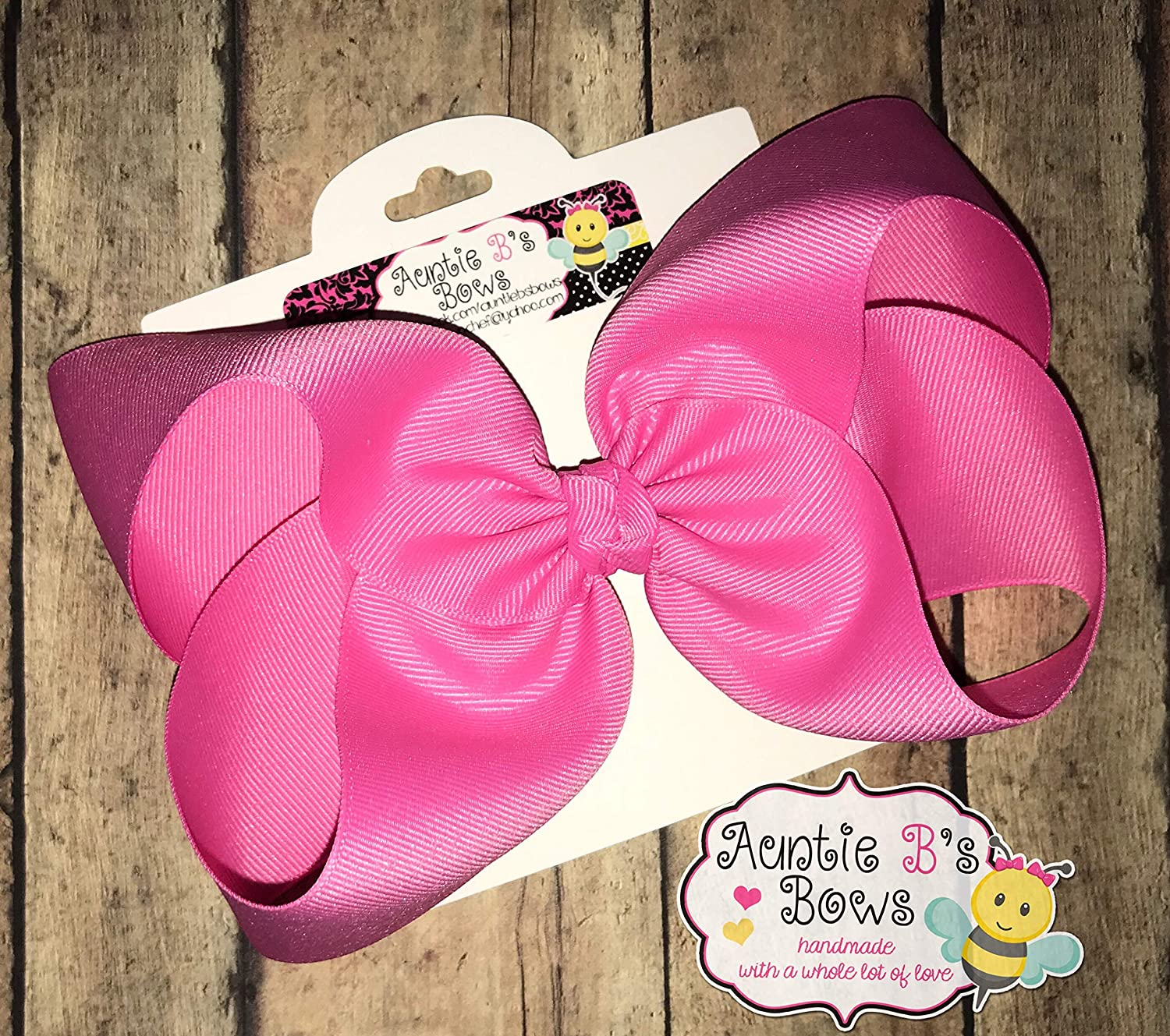 Solid Lemonade Yellow Boutique Hair Bow 4 MADE IN USA