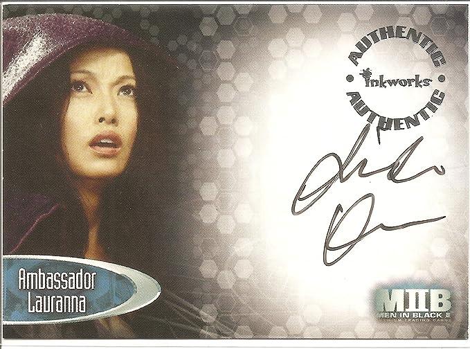 Men In Black Ii Linda Kim As Ambassador Lauranna Autograph