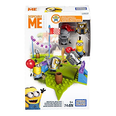 'Mattel Mega Bloks dpg69Minions Club–Ritter Jeu