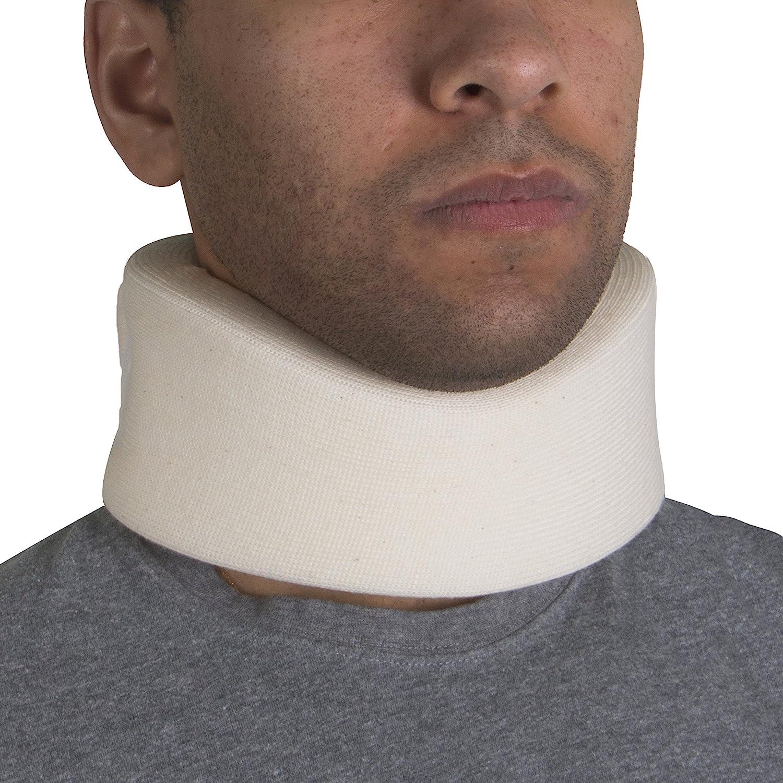 "OTC Cervical Collar, Soft Foam, Neck Support Brace, Medium (Narrow 2.5"" Depth Collar): Health & Personal Care"