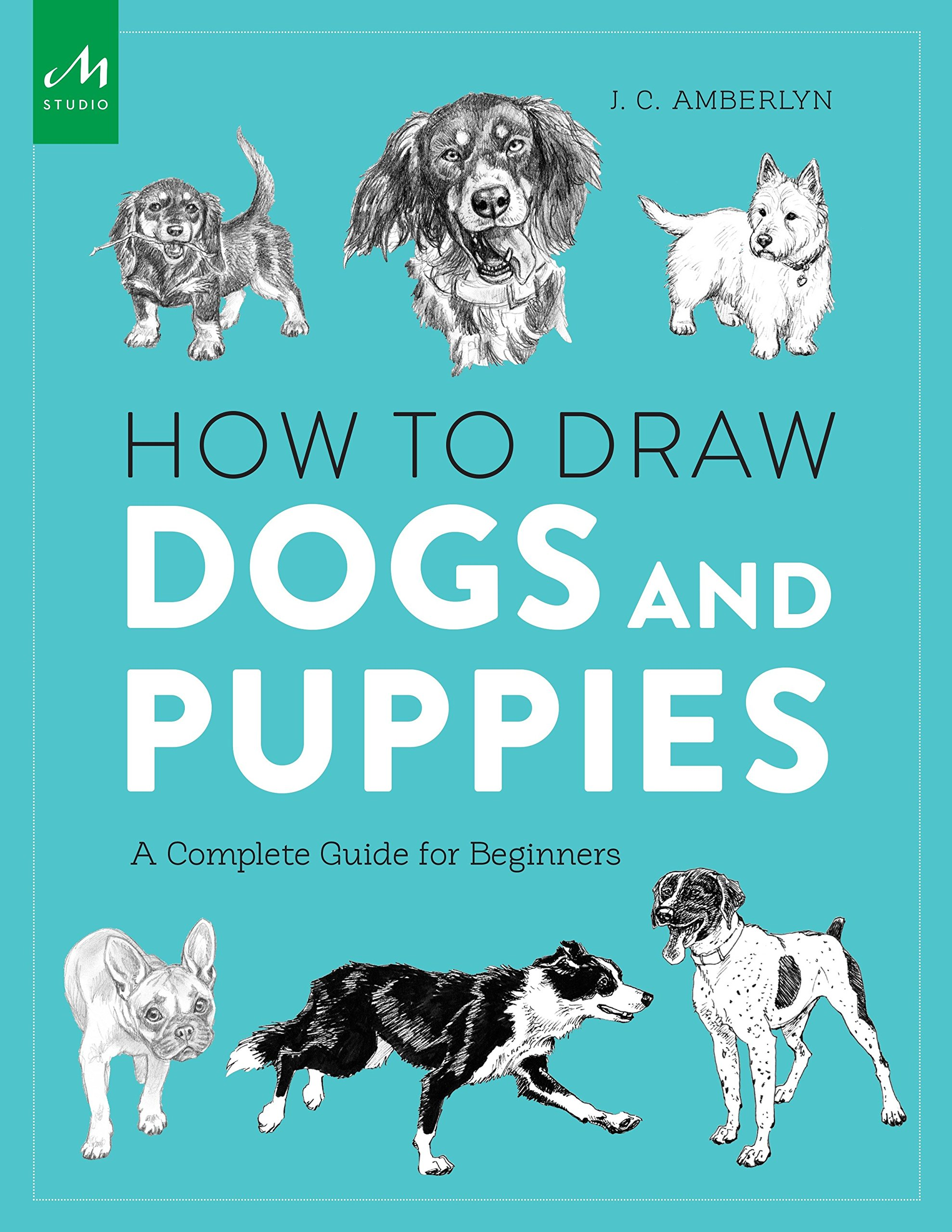 How to Draw Dogs and Puppies: A Complete Guide for Beginners: J.C. ...