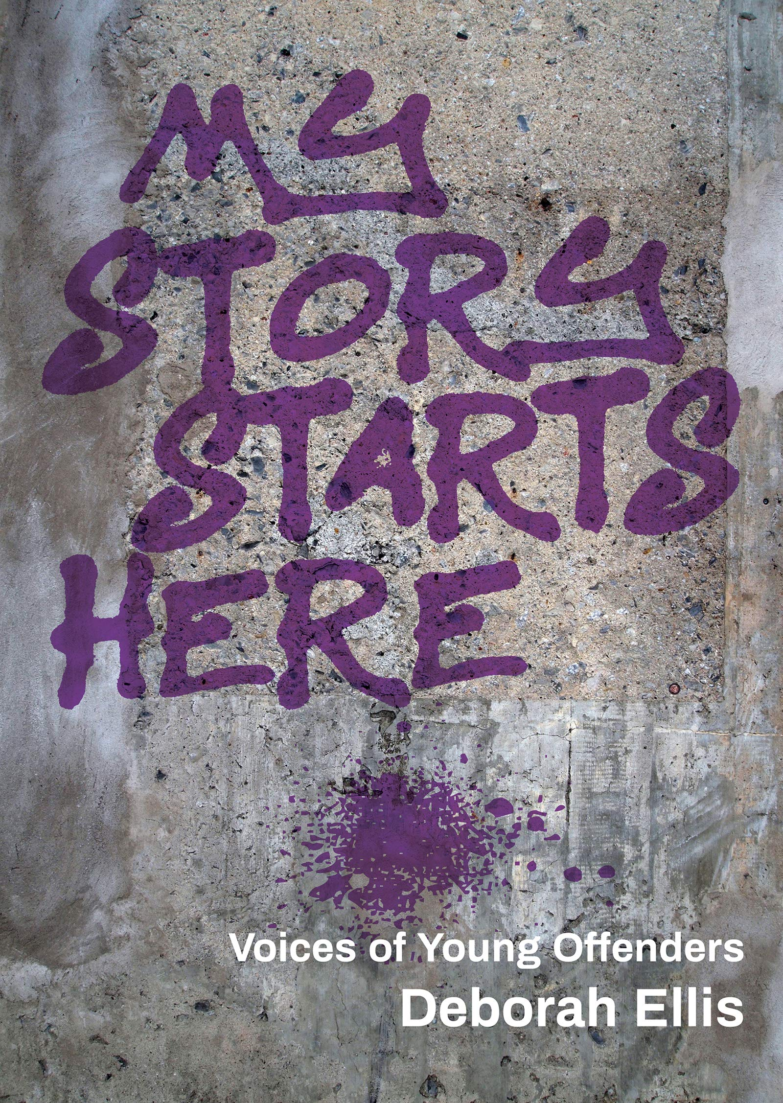 My Story Starts Here: Voices of Young Offenders: Ellis, Deborah ...