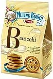 Mulino Bianco Baiocchi Nocciola Biscuits Fourrés aux Noisettes et Cacao 250 g