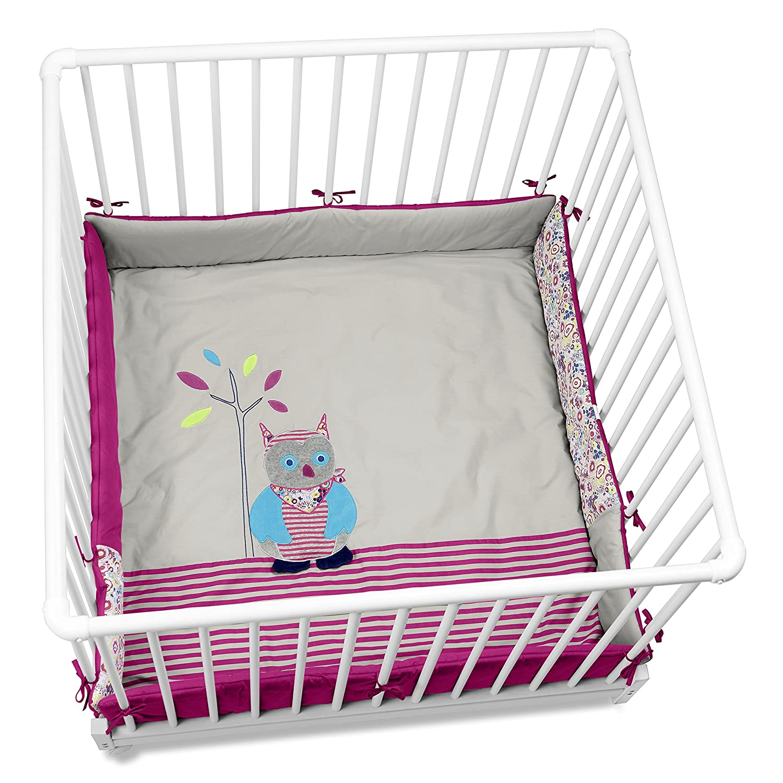 Sterntaler Playpen Pad (100 x 100 cm, Emilie The Owl) 9141621
