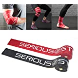 """Serious Steel Mobility & Recovery (Floss) Bands  Compression Band   Tack & Flossing Band (7' L x 2"""" W)Quick Start e-Guide INCLUDED"""