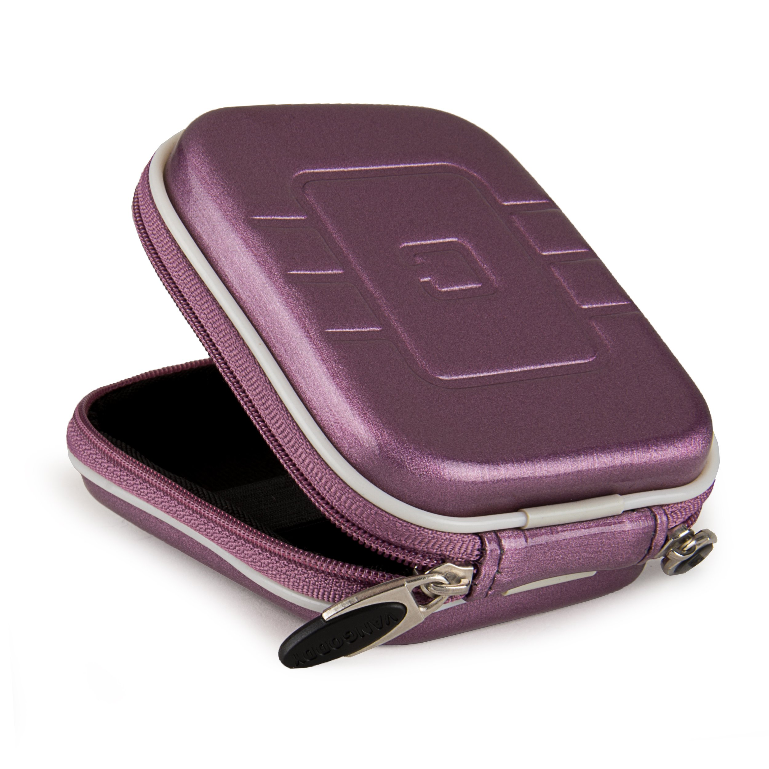 Purple Eva Hard Shell Protective Carrying case cover for Diabetic Organizer Carrying Case / Kit by SumacLife