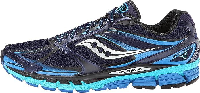 Saucony Zapatillas Deportivas Running PowerGrid Guide 8 Azul Marino/Verde Agua EU 41: Amazon.es: Zapatos y complementos