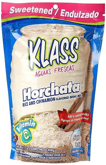 Amazoncom Klass Horchata Instant Drink Mix 141 Oz Grocery