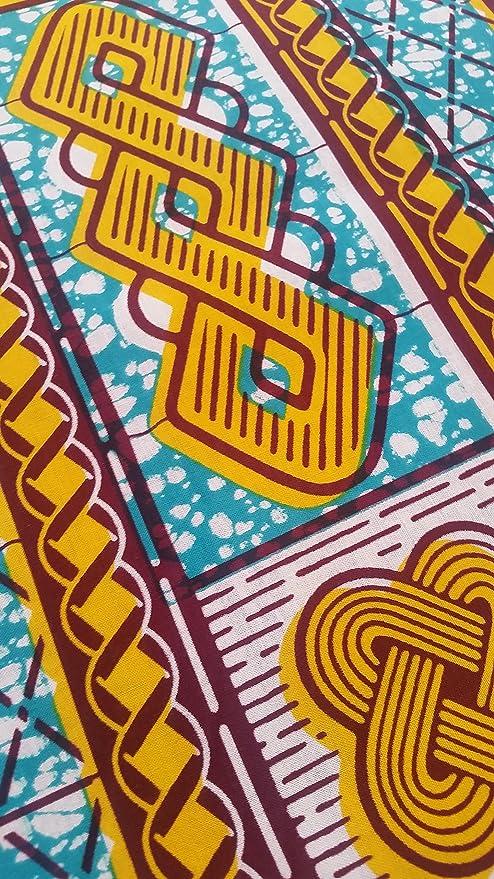 African Wax print fabric Julius Holland African Wax cloth by the yard Blue Rolls Ankara Cotton Fabrics