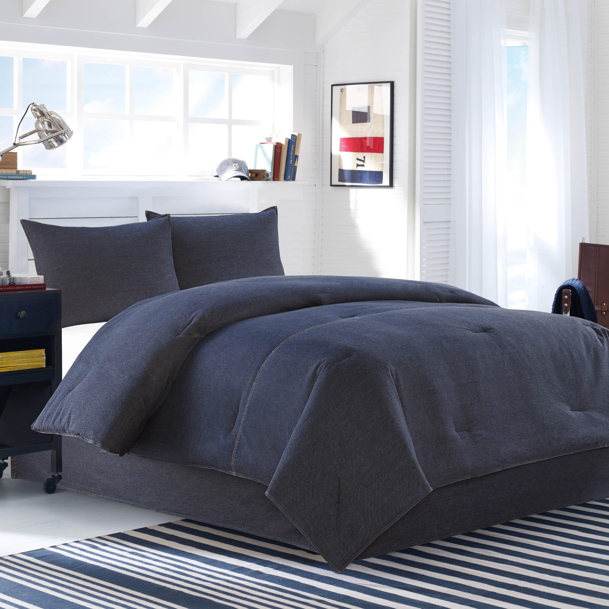 Nautica Seaward Denim Comforter Set, King