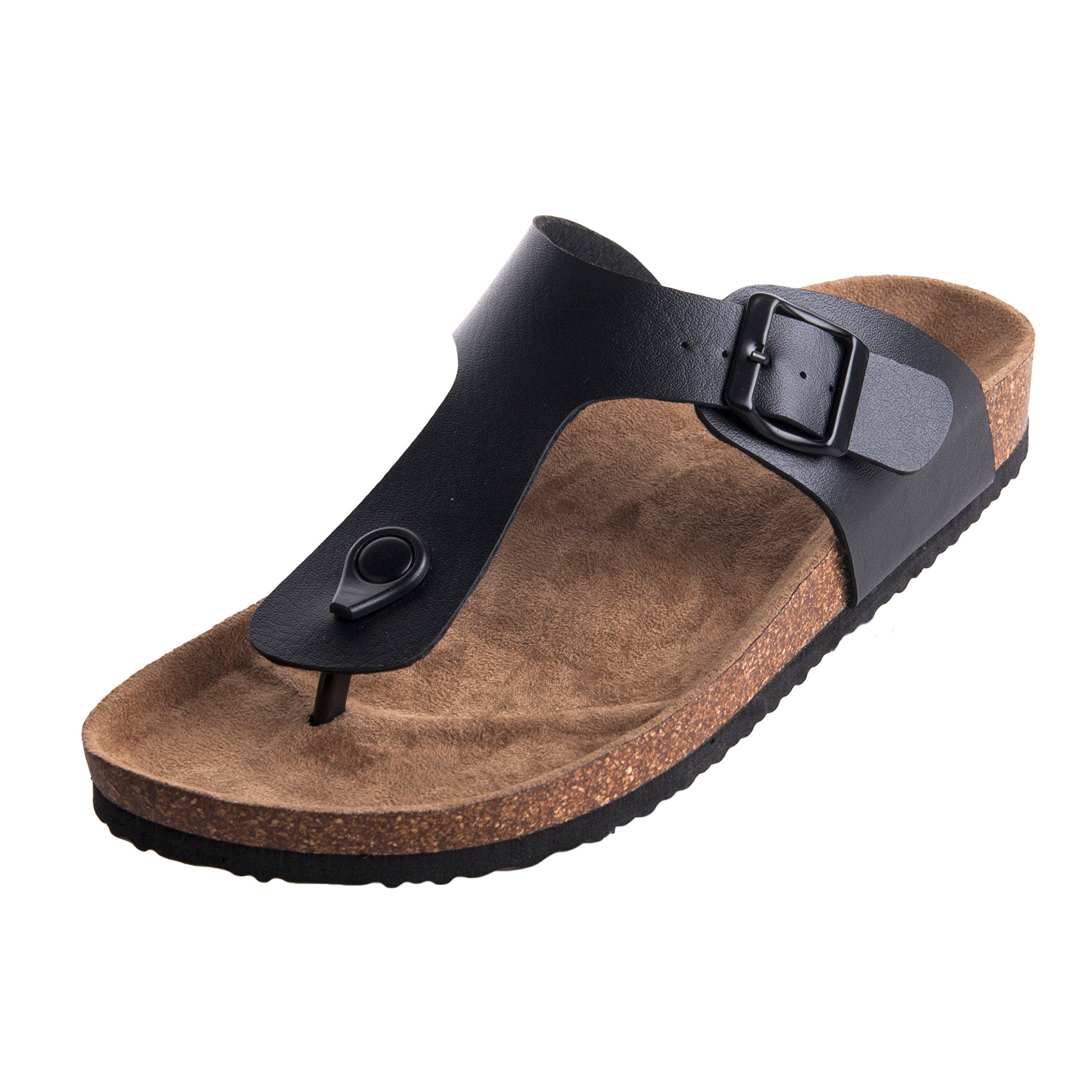 WTW Women's Cork Footbed Sandals Size 10