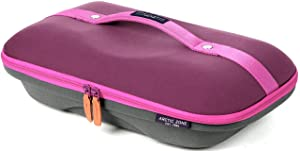 Arctic Zone 2224IL4C2D4C Deluxe Hot/Cold Thermal Insulated Food Carrier, Purple