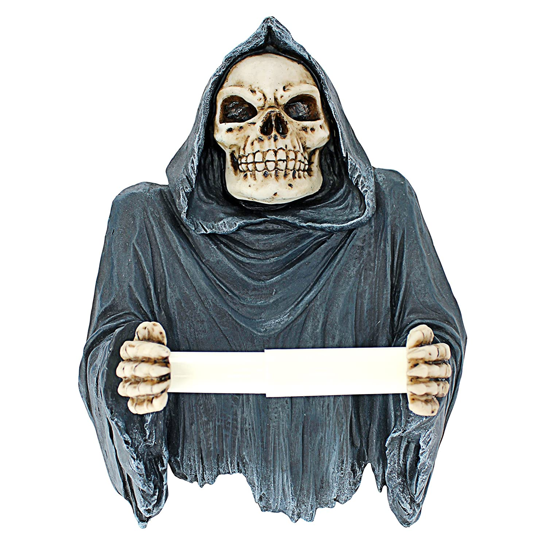 Amazon Com Toilet Paper Holder Grim Reaper Tissue Tyrant Skeleton Bathroom Decor Toilet Paper Roll Bathroom Wall Decor Toilet Paper Holders