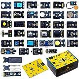 KEYESTUDIO 37 in 1 Sensor Kit Programming Starter Kit for Arduino Raspberry Pi Learning Project STEM Education…