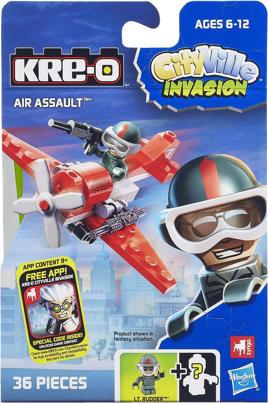 KRE-O CityVille Invasion Pack Includes City Street Set /& Construction Site Smash