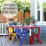 ECR4Kids School Stack Resin Chair, Indoor/Outdoor
