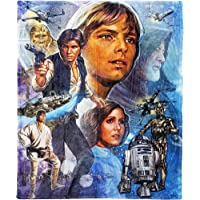 """Disney Star Wars, """"A New Hope"""" Silk Touch Throw Blanket, 50"""" x 60"""", Multi Color"""