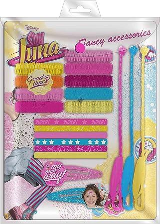 Desconocido Blister Accesorios Pelo Soy Luna Disney Trenzas: Amazon.es: Juguetes y juegos