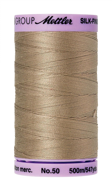 Mettler Silk-Finish Solid Cotton Thread, 547 yd/500m, Sandstone by Mettler   B00Q9TM3YW