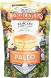 Paleo Pancake and Waffle Mix by Birch Benders, Low-Carb, High Protein, High Fiber, Gluten-free, Prebiotic, Keto-Friendly, Made with Cassava, Coconut and Almond Flour, 12 Ounce