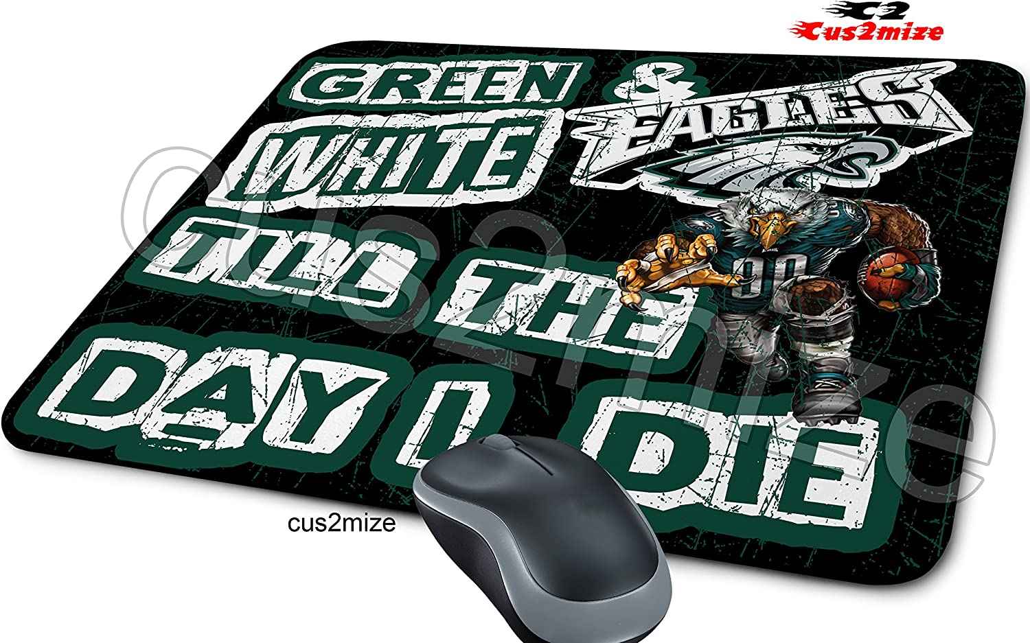 Sold By Cus2mize 0723736674764 Philadelphia Eagles Mouse Pad Philadelphia Eagles Mousepad