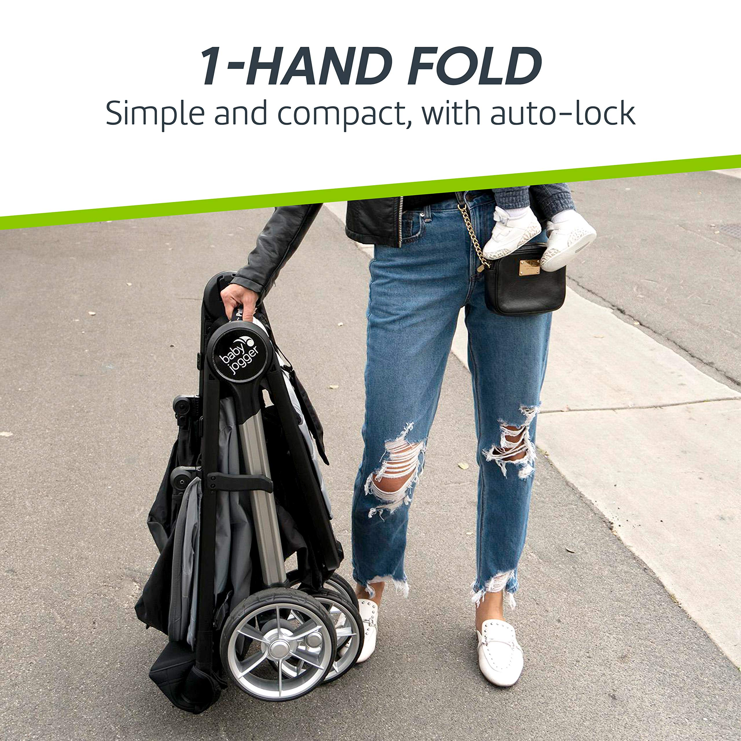 Baby Jogger City Mini 2 Stroller - 2019   Compact, Lightweight Stroller   Quick Fold Baby Stroller, Carbon by Baby Jogger (Image #4)