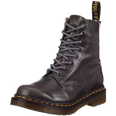 daa272e0c5e Dr. Martens Pascal 8 Eye Boot 13512020 Femme Bottes - Gris - Gris ...