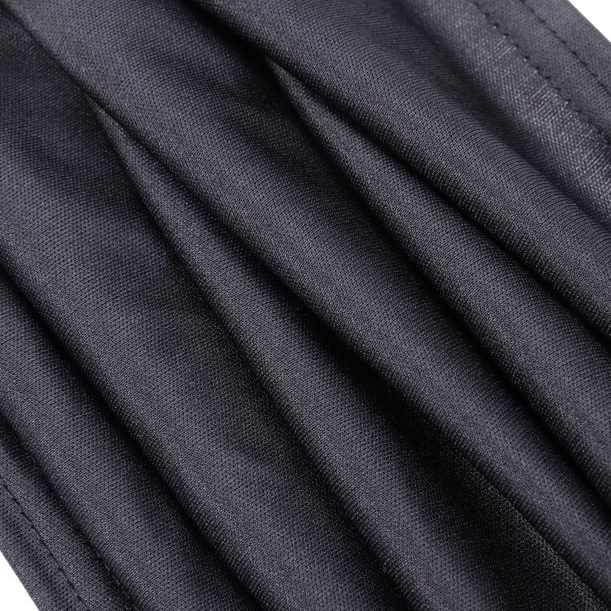 winomo 2stk fen/être lat/érale voiture Rideaux Protection solaire UV parasol drapieren fen/être Panneau Noir
