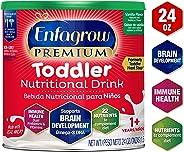 Enfagrow Premium Omega 3 DHA Prebiotics Non-GMO (Formerly Toddler Next Step) Toddler Nutritional Milk Drink, Vanilla Flavor P
